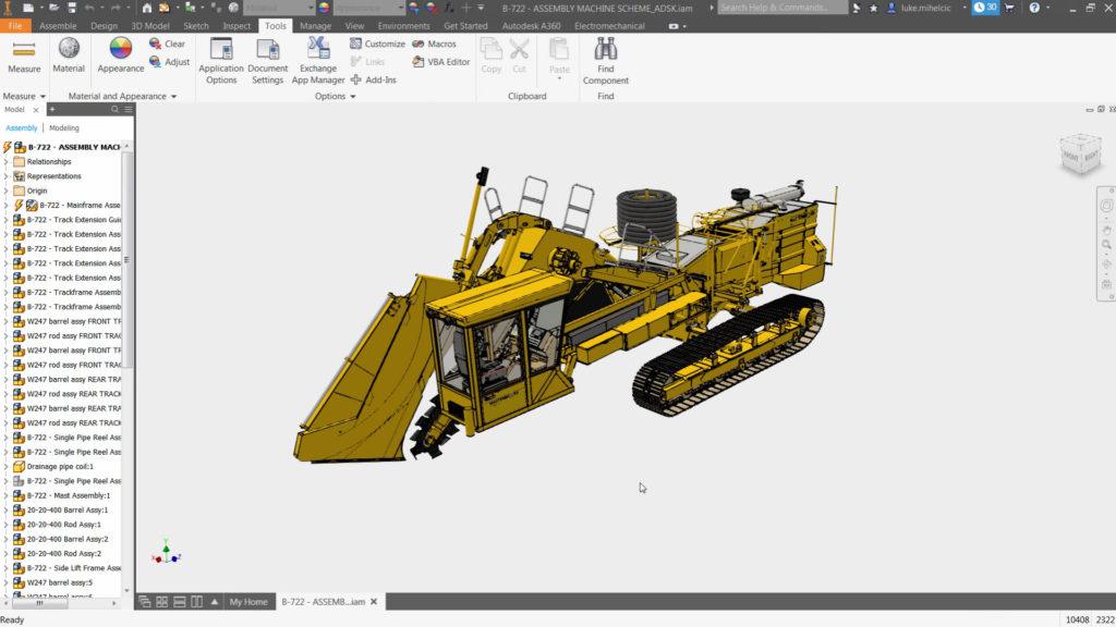 Autodesk Inventor Professional 2019 - Autocad - Design